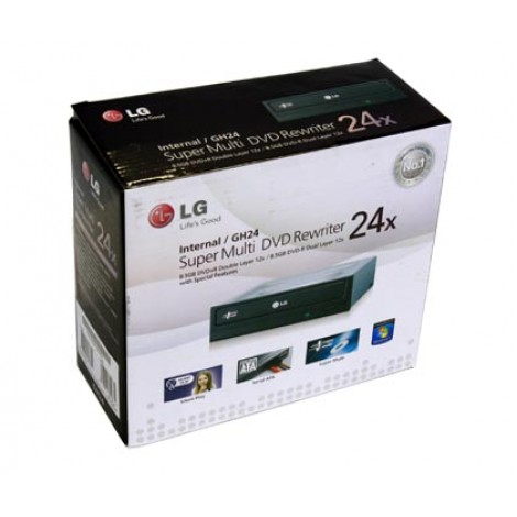 LG 24x Super Multi DVD Writer | Internal GSA H55N (SATA)