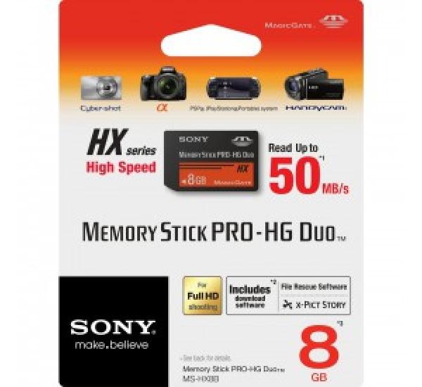 Sony Memory Stick Pro - 8GB